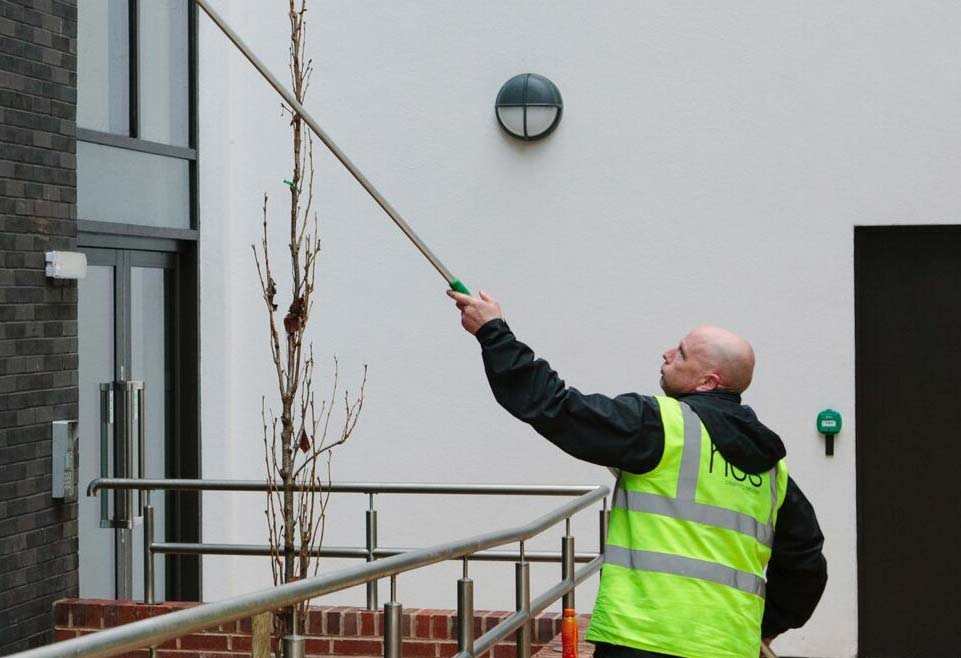 Commercial Window Cleaning in Manchester and the Northwest - HCS Cleaning Services