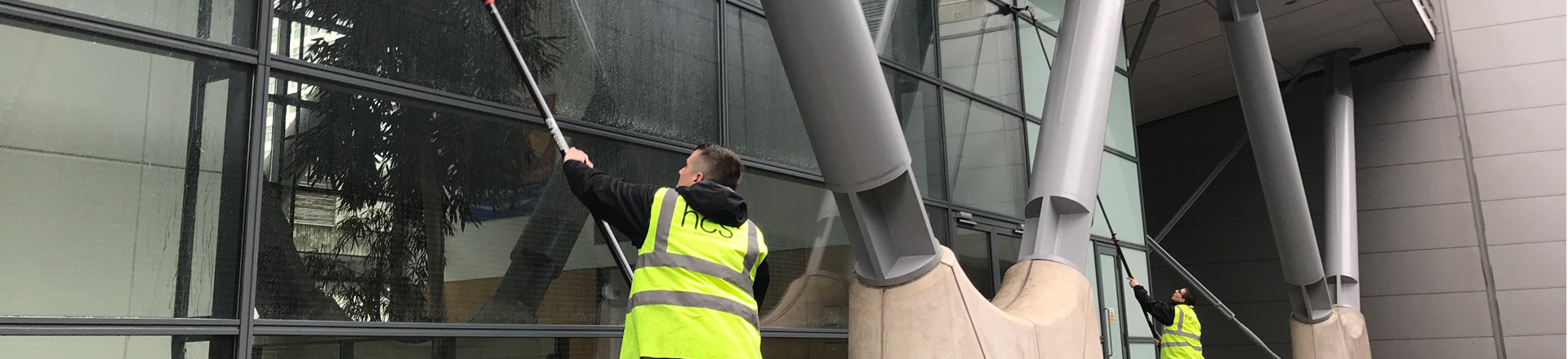 Window Cleaning Services in Manchester and the North West - HCS Cleaning Services