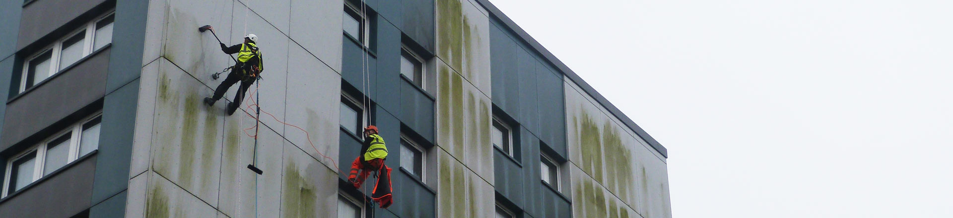 Commercial Cladding Cleaning in Manchester and the North West - HCS Cleaning Services
