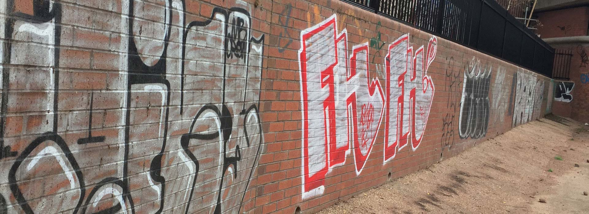 Graffiti Removal Services in Manchester and the North West - HCS Cleaning Services