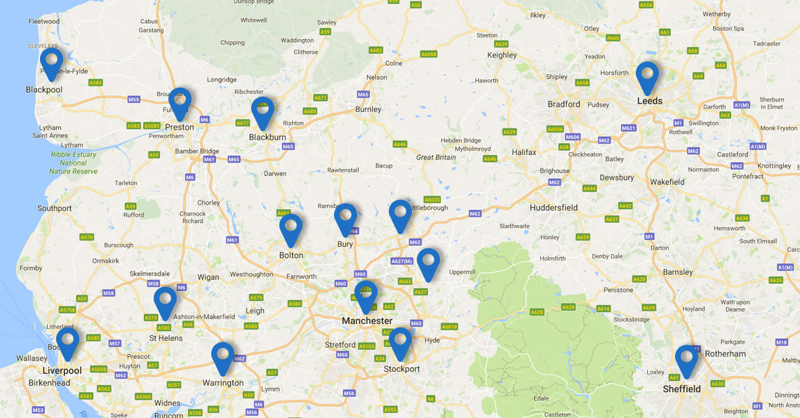 Areas We Cover We Re Growing Across The Uk Hcs