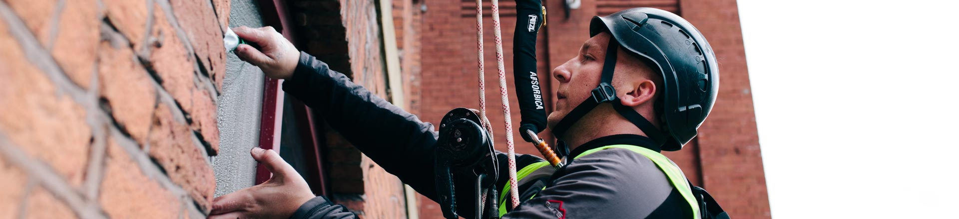 Abseiling/Rope Access Window Cleaning in Leeds - HCS Cleaning Services