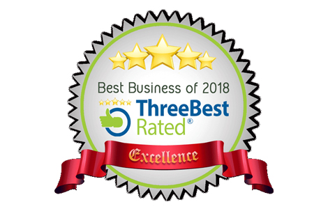 We're on Three Best Rated!