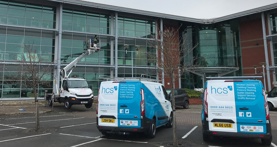 Commercial Window Cleaning in Bolton and the North West - HCS Cleaning Services