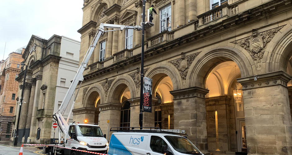 Commercial Window Cleaning in Blackburn and the North West - HCS Cleaning Services