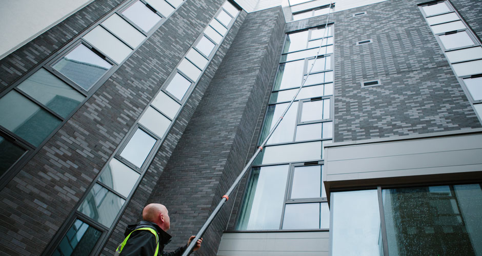Reach & Wash Window Cleaning in Preston and the North West - HCS Cleaning Services