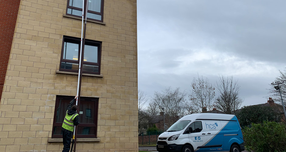 Gutter Cleaning in Manchester and the North West - HCS Cleaning Services