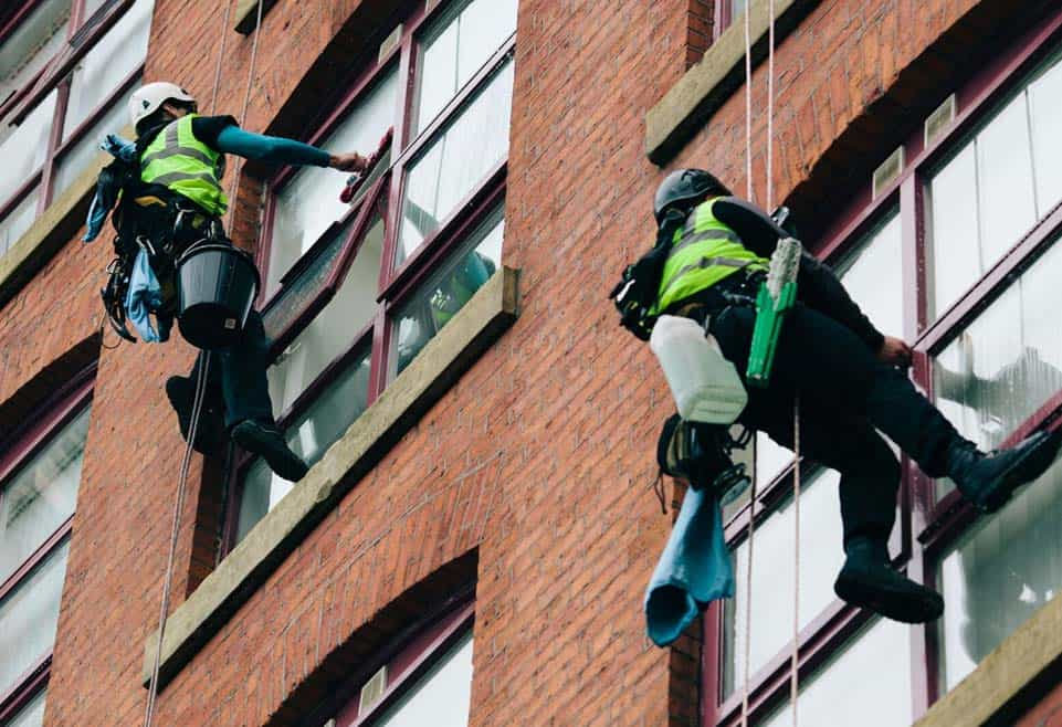 Abseil Commercial Window Cleaning